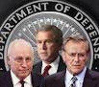 Cheney, Bush, and Rumsfeld