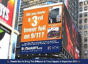 ReThink911 Billboard